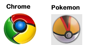 Google Logo VS Pokemon