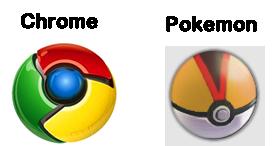 Google Logo VS Pokemon