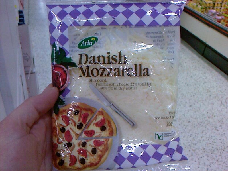 Mozzarella Danese a Dublino